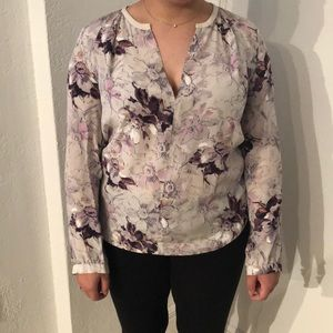 Rebecca Taylor silk blouse size 4